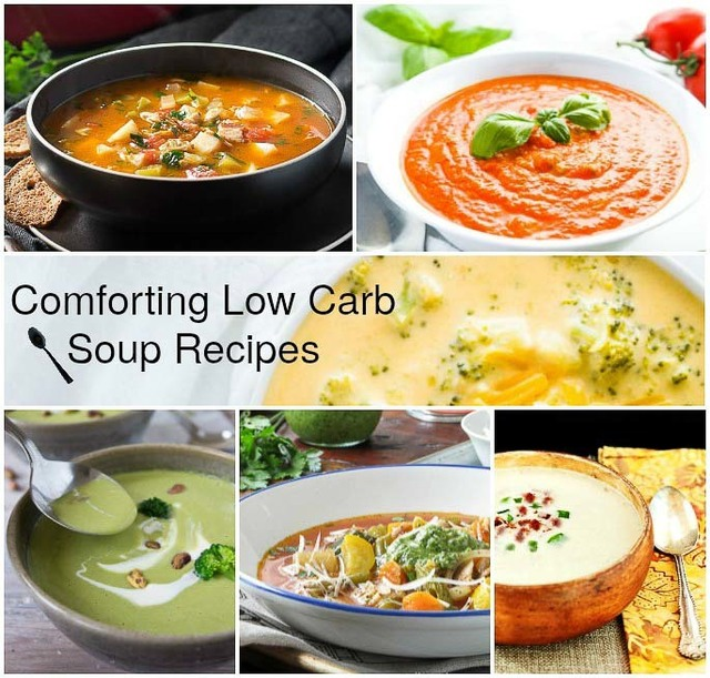 Comforting Low Carb Soup Recipes