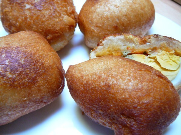 Beignets d'oeuf - Egg cutlets