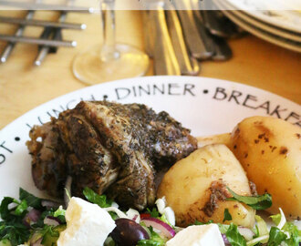Kleftiko – Greek Slow Cooked Lamb & Potatoes