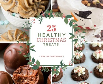25 Healthy Christmas Treats Recipe Roundup