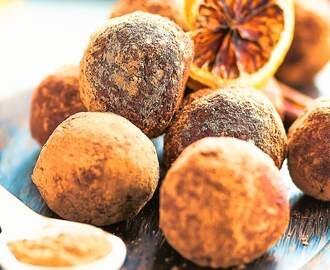 TRUFFLE RECIPE∙SUGAR FREE AND VEGAN FRIENDLY