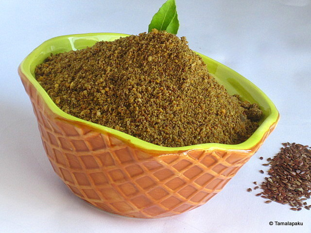 Flaxseed Chutney Powder