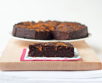 Carrot Cake Brownies (in time for Easter!)
