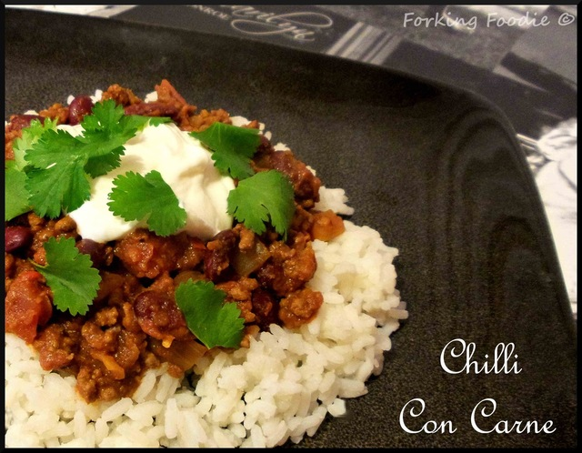 Easy Chilli con Carne (with Pressure Cooker method)