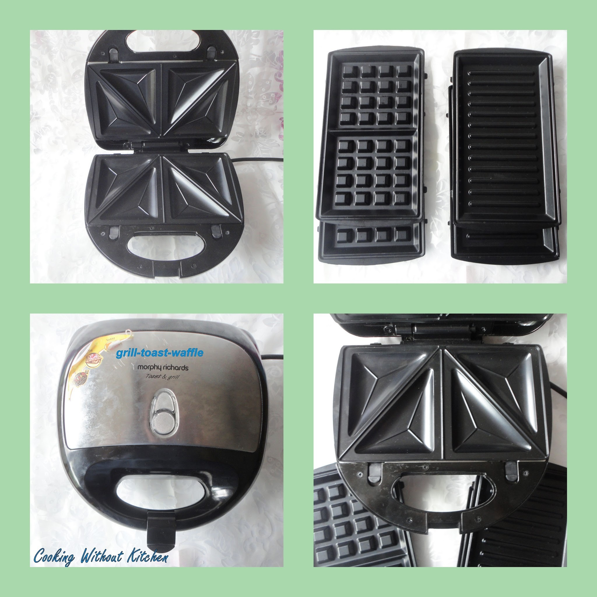 Do you plan to buy a sandwich toaster-grill-waffle maker ?