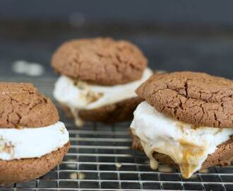 Chocolate Gluten-Free Ice Cream Sandwiches