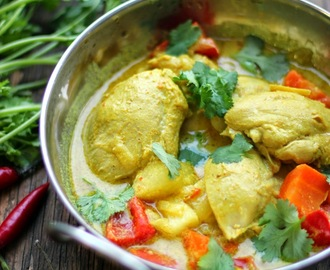 Chicken curry - Filipino style