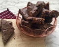 Mars bar tray bake