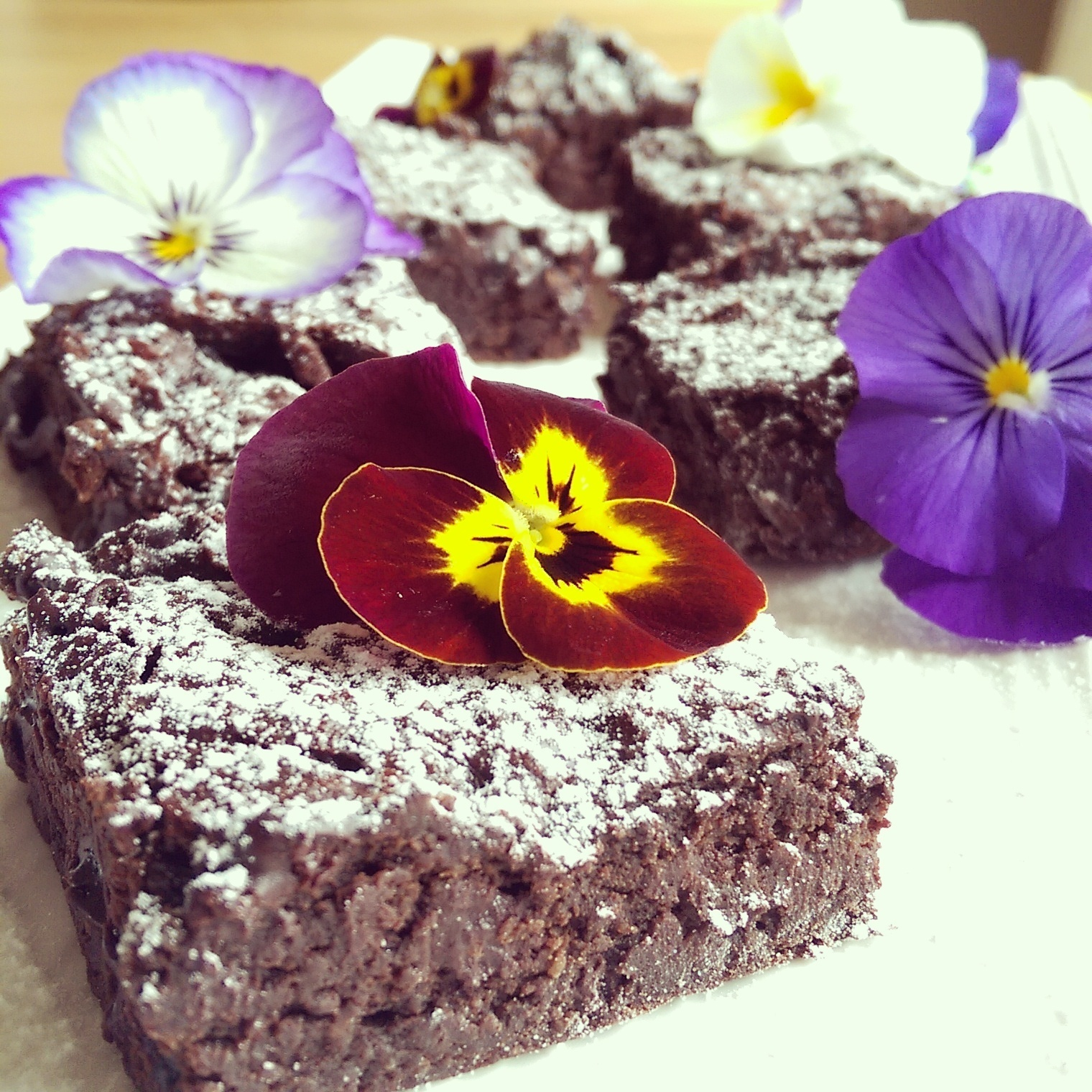 Avocado Chocolate Brownie