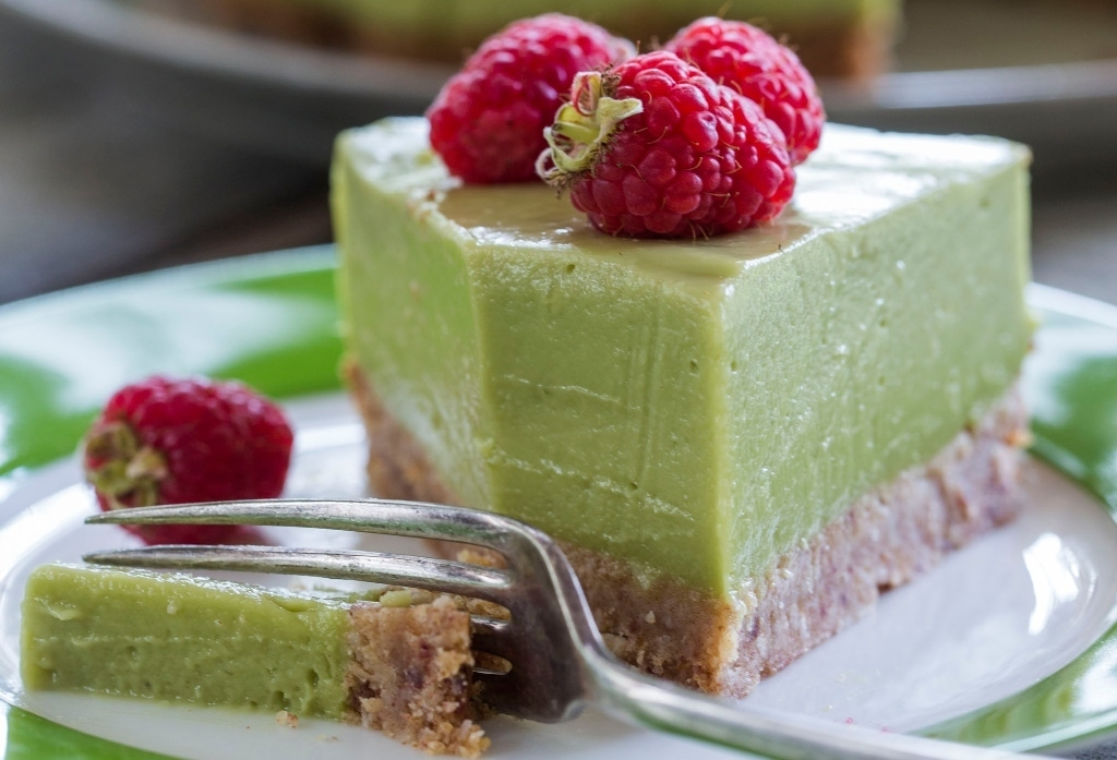 Avocado, Lime and Coconut 'Cheese' Cake Recipe