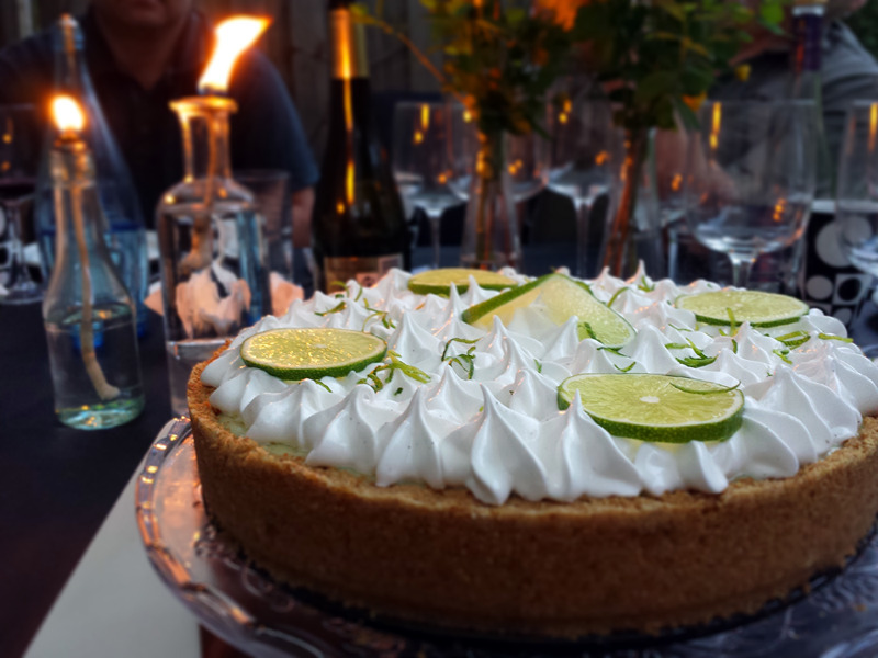 Key Lime Pie fra Hummingbird Bakery