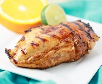 Pinot Grigio Chicken with Honey Citrus Glaze