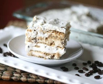 Hazelnut Cheesecake Layered Icebox Cake