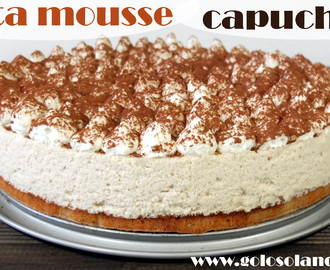Tarta mousse capuchino