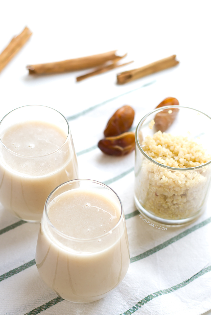 Homemade Quinoa Milk