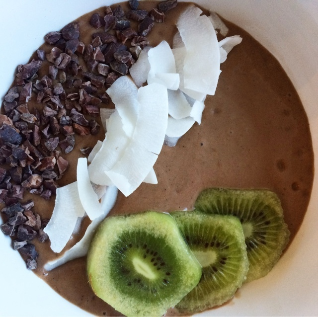 Peanutbutterchocolate Smoothiebowl