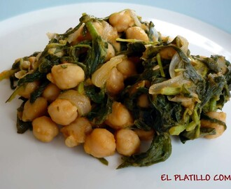 GARBANZOS CON COLLEJAS
