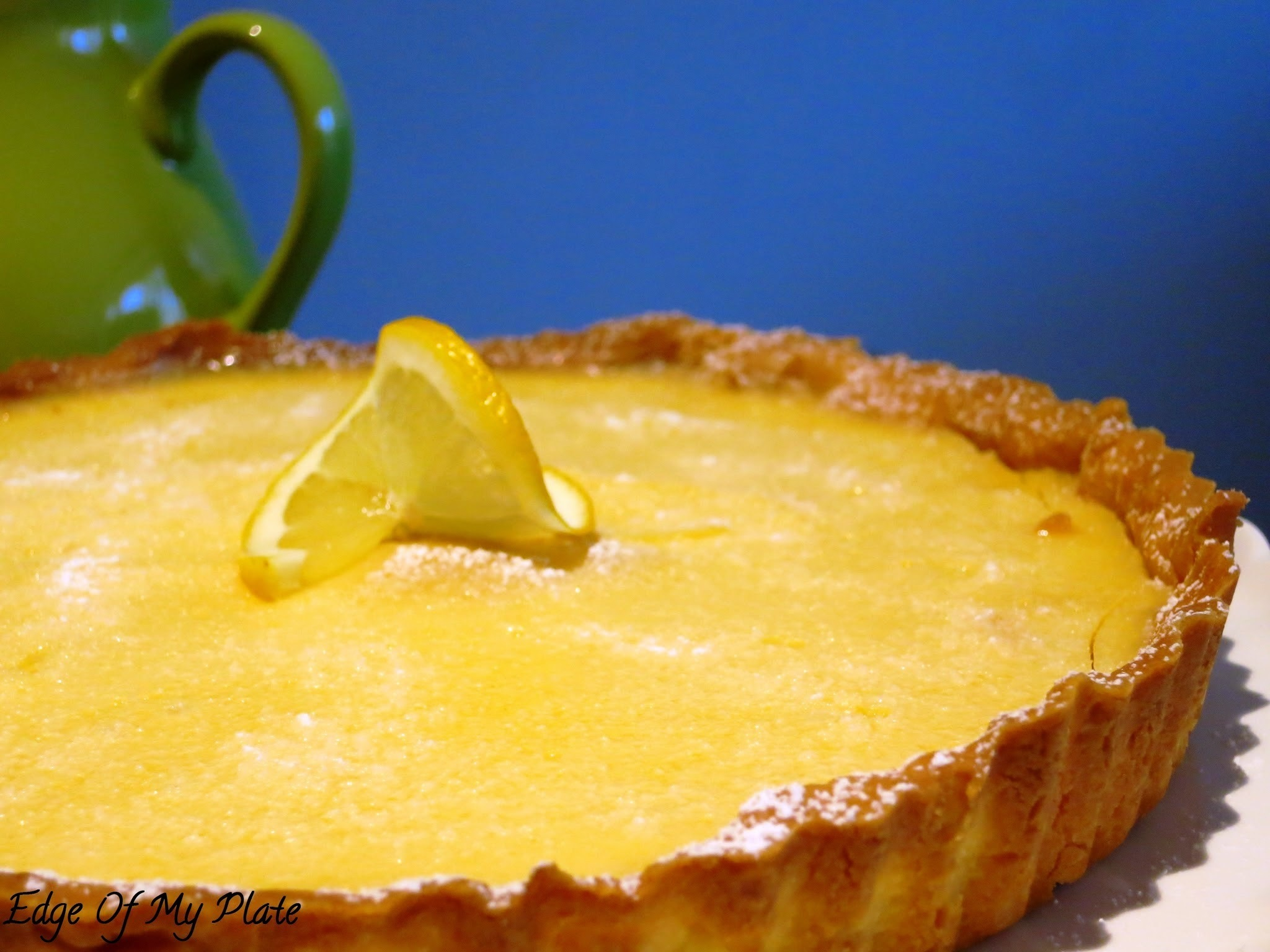 Delicious Tangy Lemon Tart