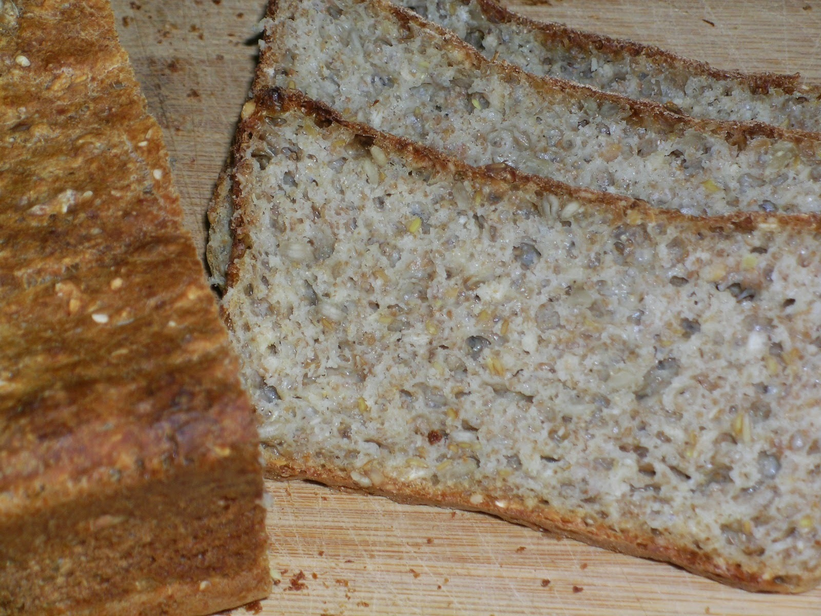 Perfected : No-Knead Vogels Style Bread
