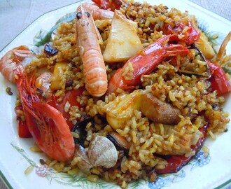 Arroces (III): Con mariscos