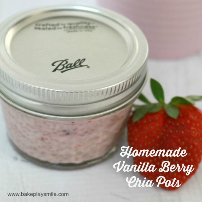 Homemade Vanilla Berry Chia Pods – Fabulous Foodie Fridays #25