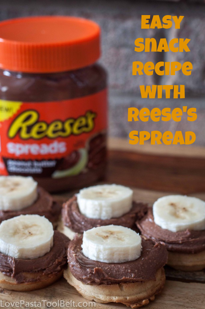 Easy Snack Recipe with Reese's Spread