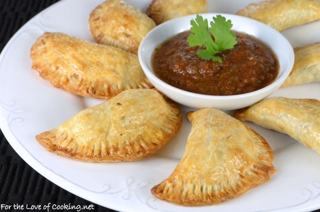 Shredded Beef and Sharp Cheddar Empanadas