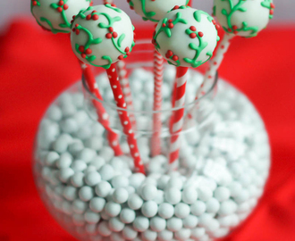 Christmas Cookies and Cake Pops