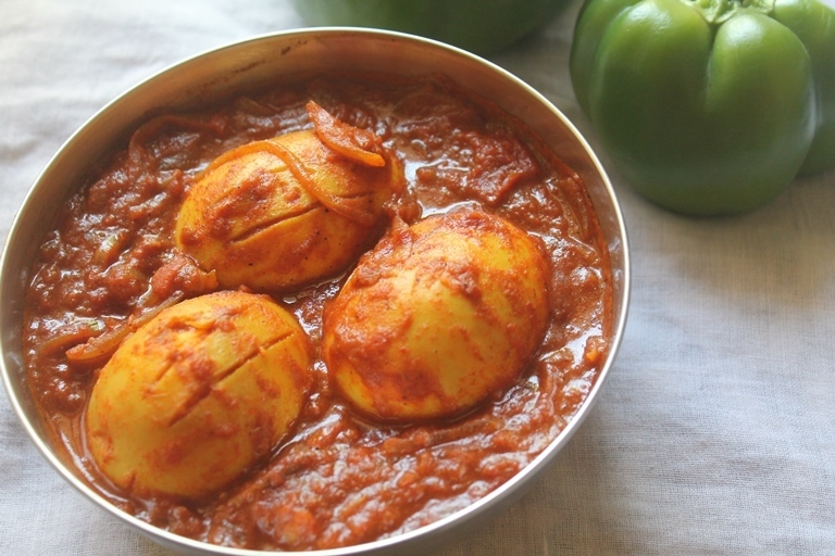 Spicy Egg Curry Recipe