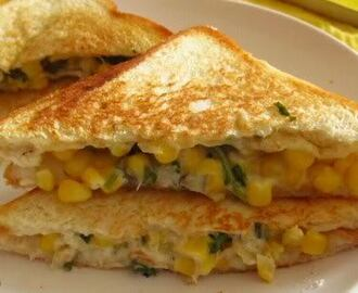BAKED CORN SANDWITCH