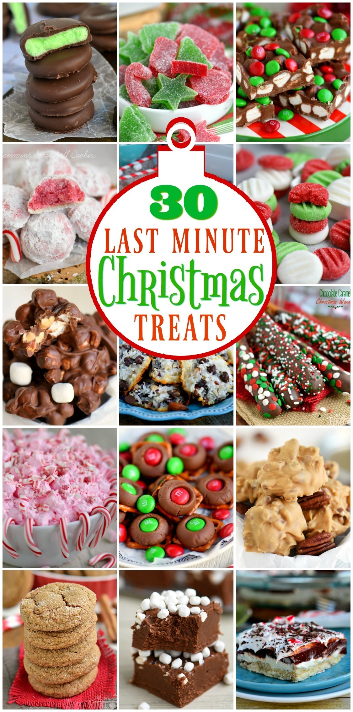 30 Last Minute Christmas Treats