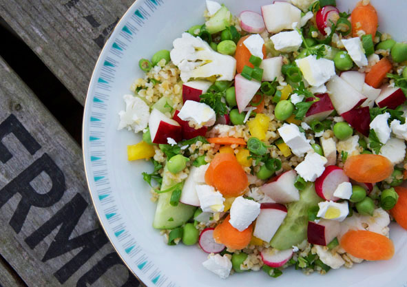 Sommersalater / Sommer salads