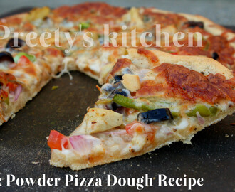 Milk Powder Pizza Dough Recipe
