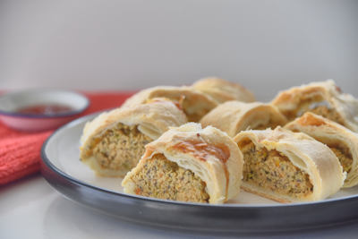 Healthy Thermomix Sausage Rolls