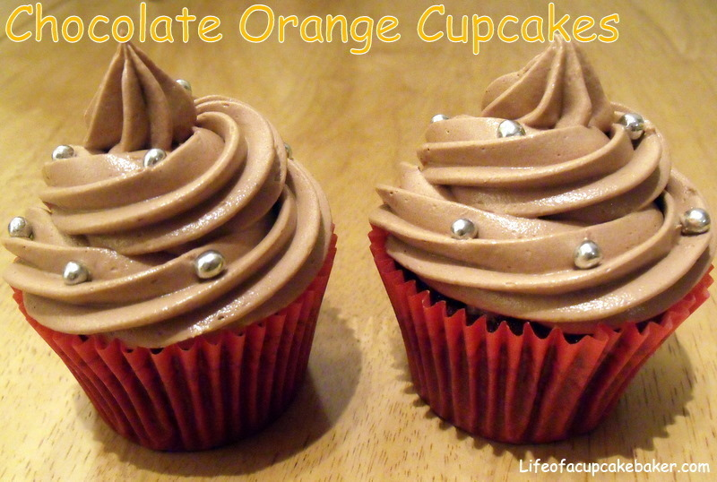 "Chocolate Orange Cupcakes & this months ""We Should Cocoa"" entry"