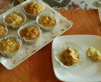 Keeping the kid busy on a holiday - Savoury Cheese Muffins