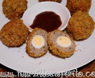 Mini scotch eggs e Jamie's italian