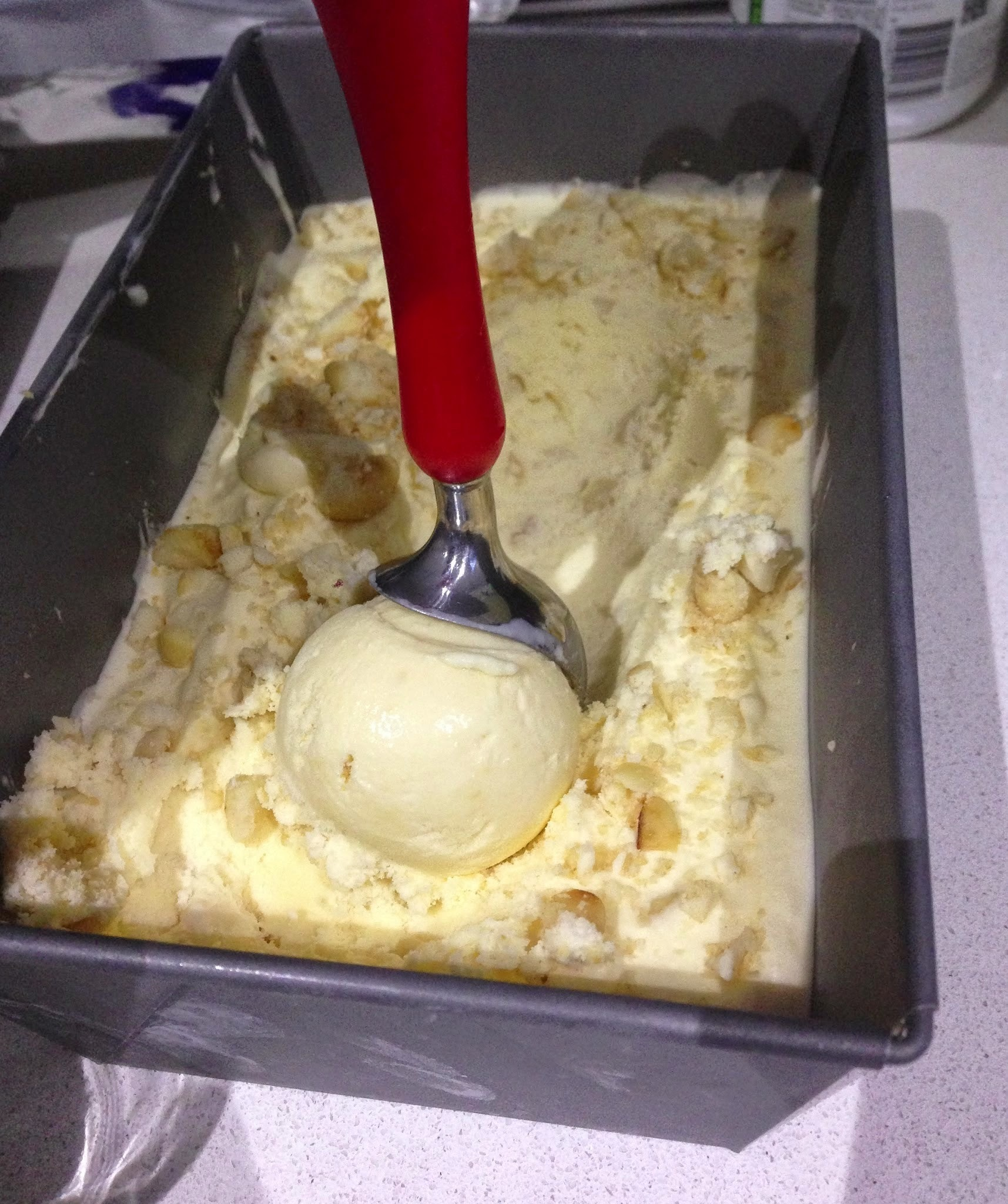 Macadamia Nut Ice Cream recipe