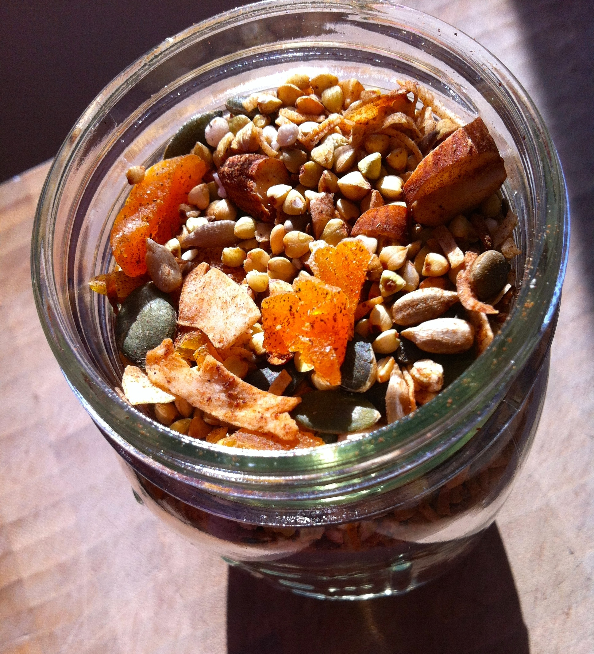 Gluten Free Muesli With Buckwheat