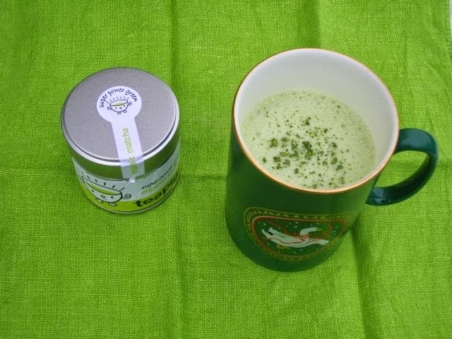 Matcha Hot Chocolate and a Matcha Challenge