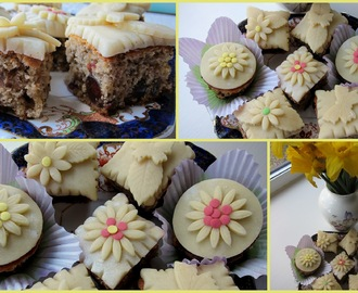 Little Simnel cakes - recipe - giveaway
