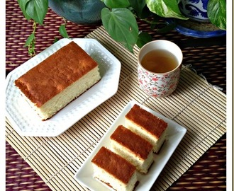 Let's Try A Japanese Honey Sponge Cake–Castella or Kasutera (カステラ, 长崎蛋糕)