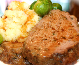 ~ I Love My Mom's Old-Fashioned All-Beef Meatloaf ~