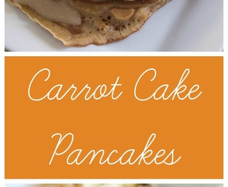 Carrot Cake Pancakes #EasterRecipes