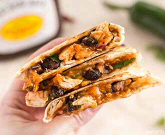 Ultimate BBQ Chicken Quesadillas