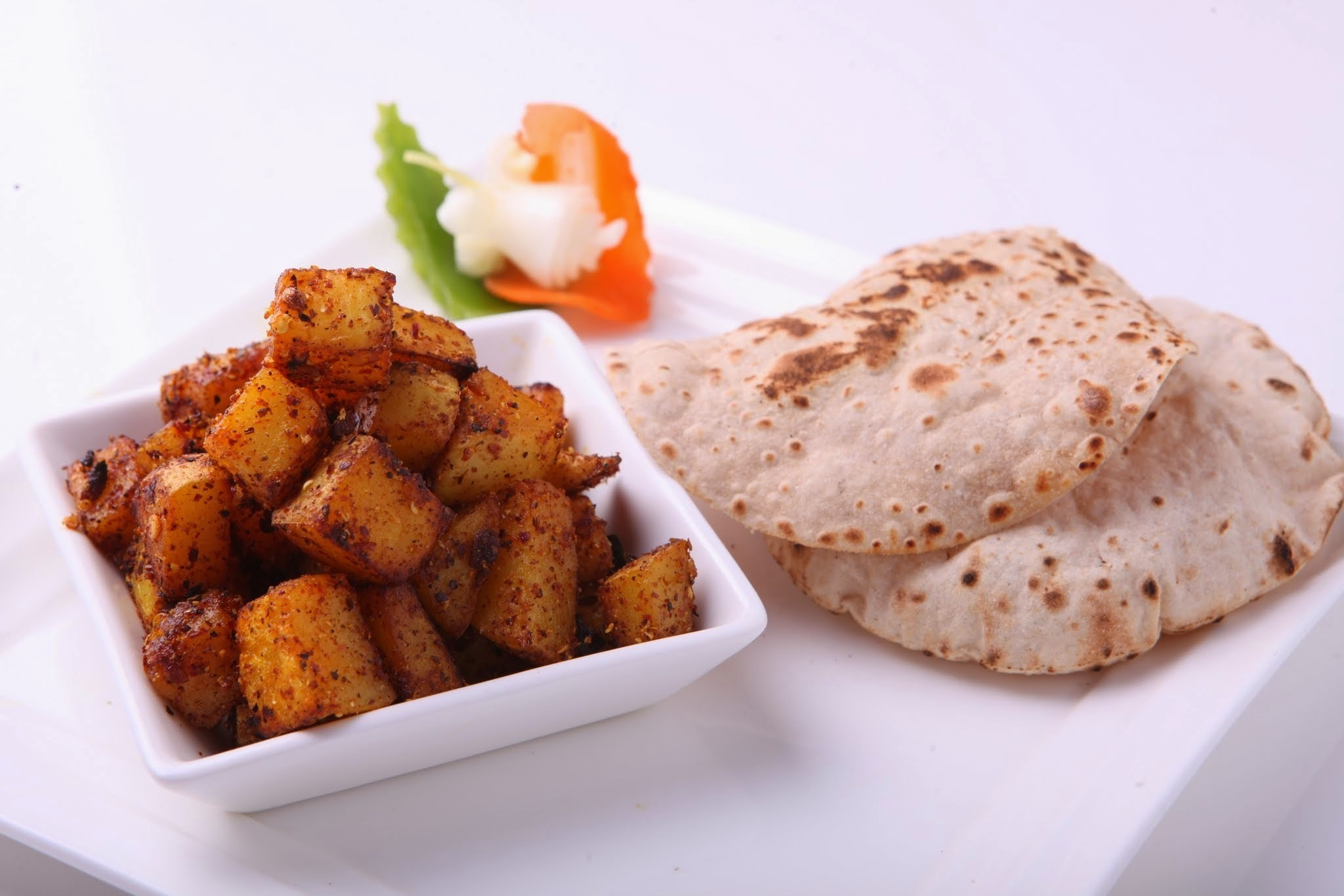 Thikka Aloo Recipe, aloo sukhi sabji, How To Make Thikka Aloo Recipe
