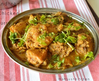 Chicken curry- Andhra style