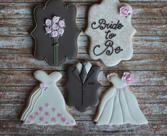 Kitchen Tea Bouquet Cookies