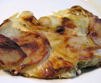 Dauphinoise Potatoes with Leeks