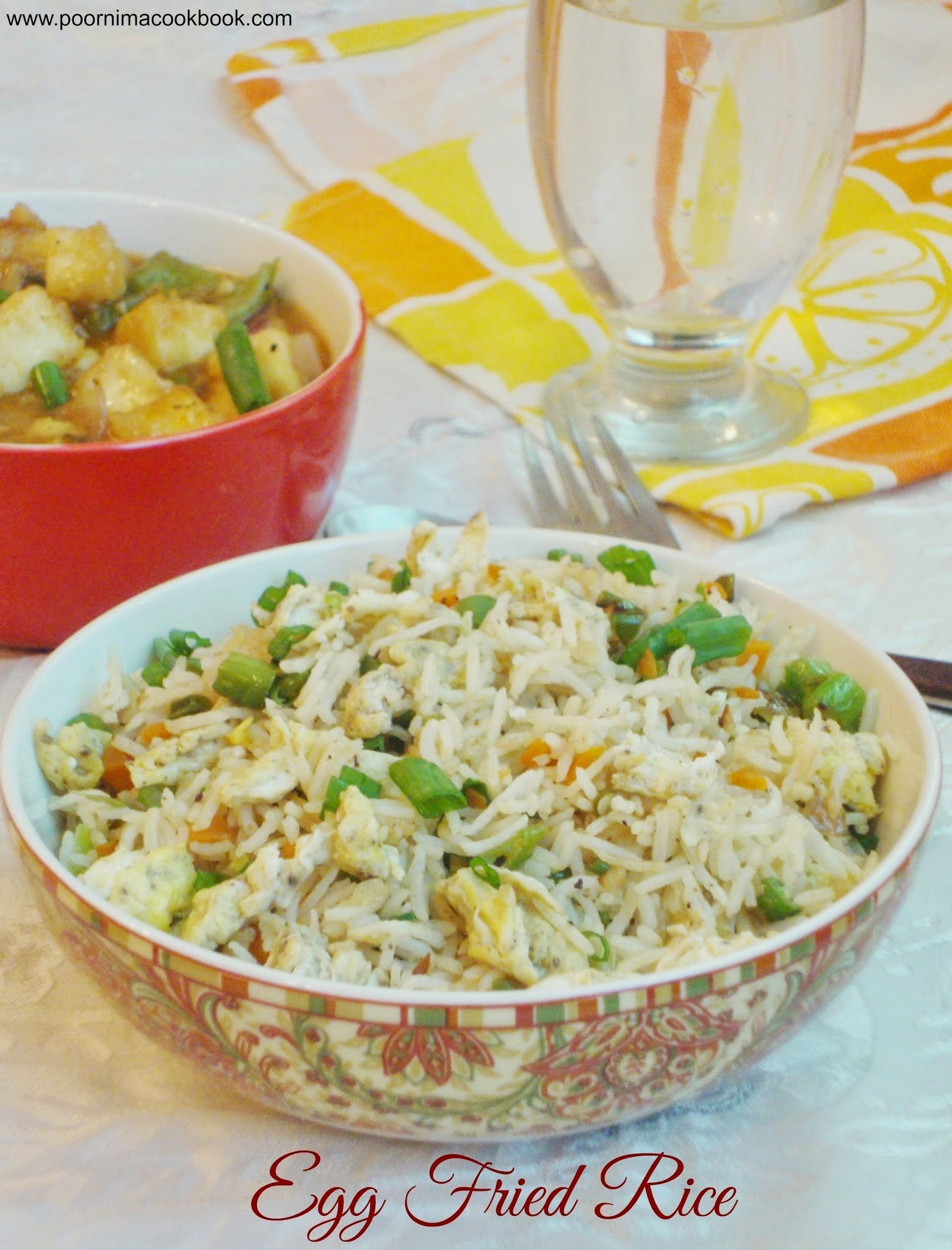 Egg Fried Rice (Indo Chinese)